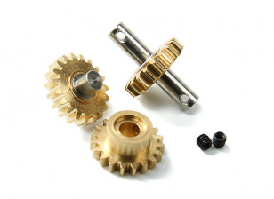 Orlandoo OH35P01 4WD - Upgrade/Spare Part Alu. Gearbox Gear