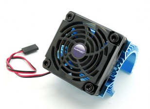 TURNIGY Heat Sink with Fan for 36 series motors.