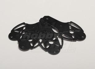 Hobbyking X525 V3 Glass Fiber Motor Mount (4pcs/bag)