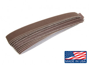 "Zona 1/2"" Wide Sanding Stick Assorted Sanding Strip Pack"