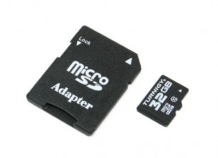 Turnigy 32GB Class 10 Micro SD Memory Card (1pc)