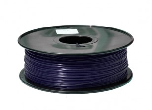 HobbyKing 3D Printer Filament 1.75mm PLA 1KG Spool (Dark Blue)