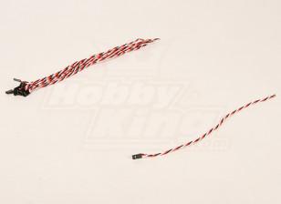 300mm Female 22AWG Twisted (10pcs/bag)