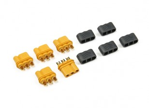 MR30 - 2.0mm 3 Pin Motor to ESC Connector (30A) Female Only (5 sets/bag)