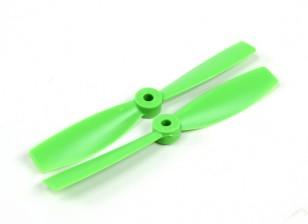 HobbyKing 5050 Bullnose PC Propellers (CW/CCW) Green (1 pair)