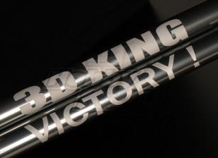 HK-500GT Tail Boom w/ Custom Laser Text (Align part # H50040)