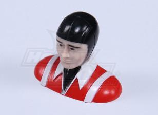 Ultra Light Parkfly Pilot (Red) (H30 x W37 x D19mm)