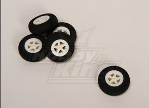 Light Foam Wheel (Diam: 35, Width: 11mm) (5pcs/bag)