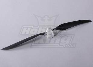 Folding Propeller W/Alloy Hub 45mm/4mm Shaft 14x8 (1pc)
