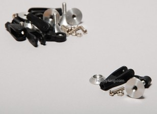 Extra Strong Control Horns w/ Bearing 15mm (5pcs)