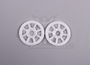 Tarot 450 PRO Main Gear Set (2pcs) - White (TL1219-01)