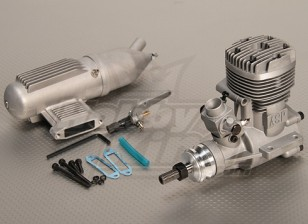 ASP S61A Two Stroke Glow Engine w/Remote HS Needle Valve
