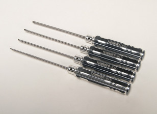 Turnigy Long Shaft 4pc Hex Driver Set
