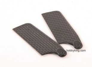 62mm TIG Carbon Fiber Tail Blade