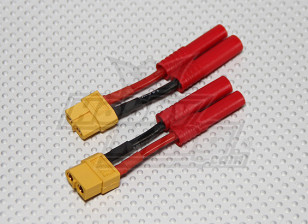 HXT 4mm to XT-60 Battery Adapter (2pcs/bag)