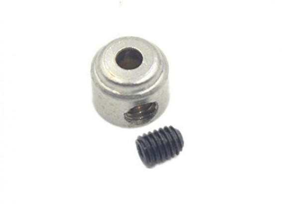 ランディングギアホイールストップセットカラーの6x2.1mm(10個入り)