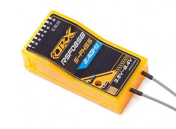 2.4GHz帯のS-FHSS / FHSS互換8CH + S-BUSレシーバ