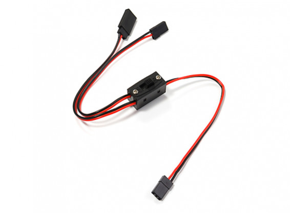 3 Wire Receiver On/Off Switch (JR/Futaba type)
