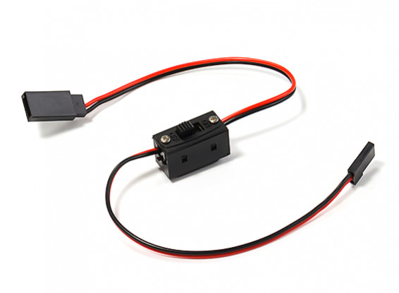 2 Wire Receiver On/Off Switch (JR/Futaba type)