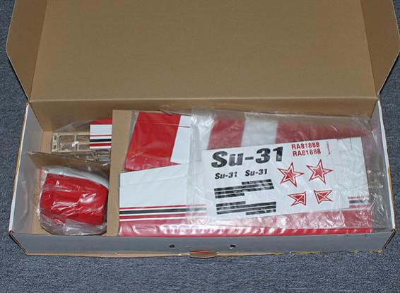SCRATCH / DENT SU-31スポーツスケール941ミリメートル(ARF)