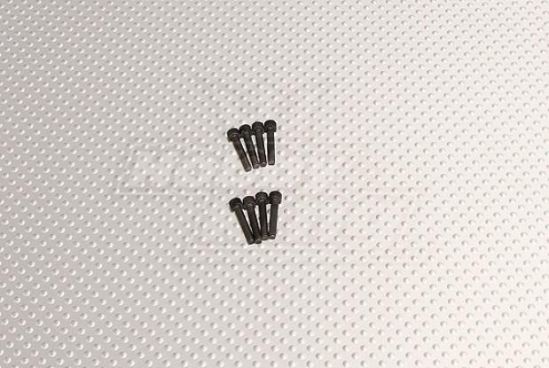 CNCインチのボルト#4 40x5 / 8ブラック