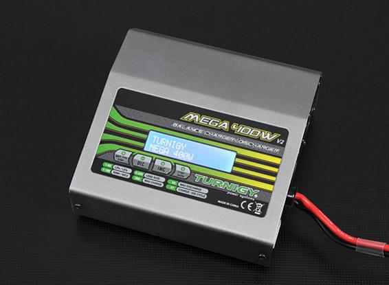 TURNIGYのMEGA 400W V2リチウムポリマー・バッテリ・チャージャ(バージョン2)