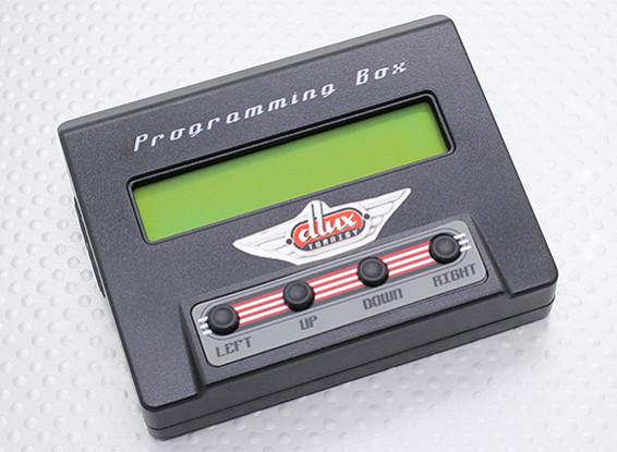 Turnigy dluxプログラミングボックス/データロギング機能ワット