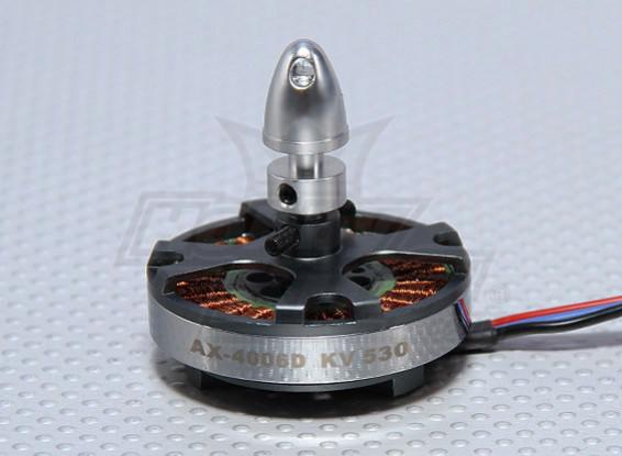 NX-4006-530kvブラシレスクワッドローターモーター