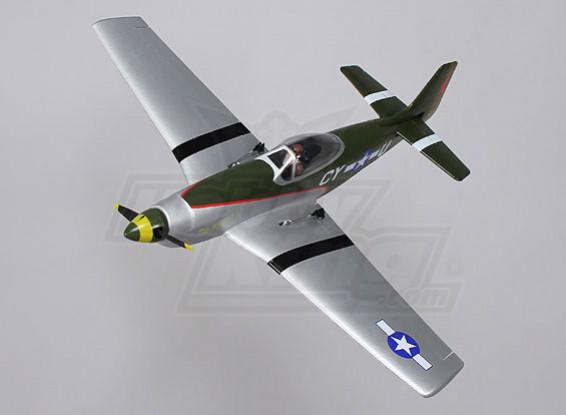 P-51 Funfighter  -  EPO 650ミリメートル(PNF)