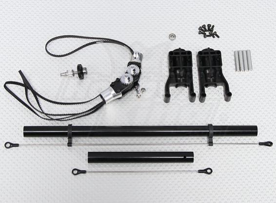 スケールヘリコプターオフセットテールコンバージョンキット(トレックス/ HK 450互換)