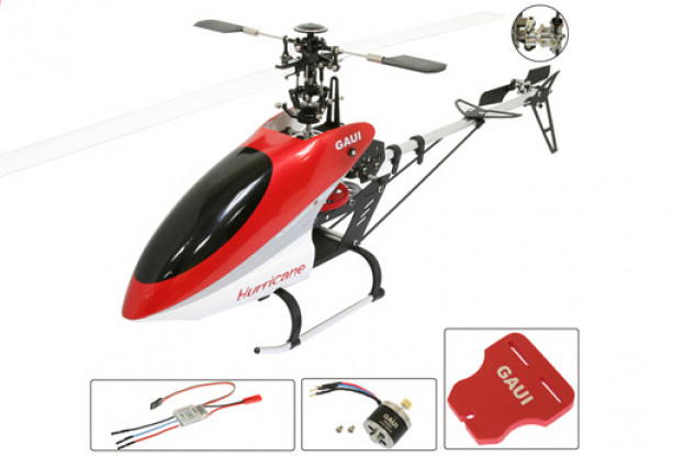 ハリケーン200 V2 3Dヘリコプターキットワット/ ESC /モーター