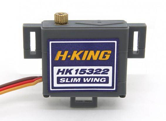 HK15322MGデジタルスリムウイングサーボ1.75キロ/ 0.10sec / 19グラム