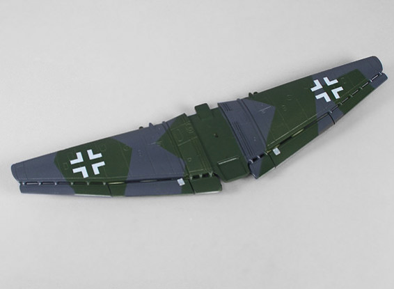 H-キングマイクロJU-87G-1スツーカ - 交換用メインウィング