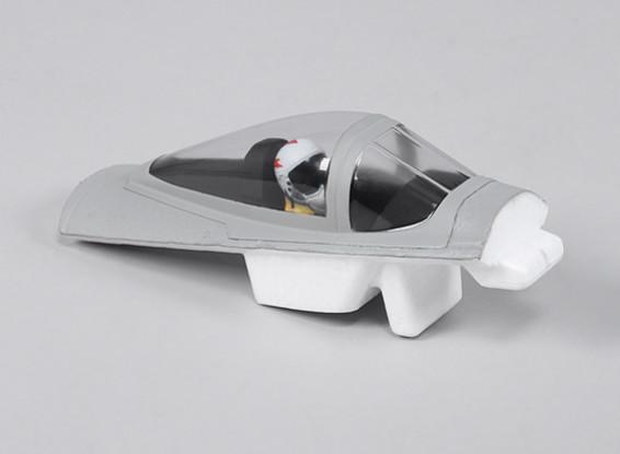 Durafly™1100ミリメートルA1スカイレイダー - 交換用キャノピー(ワット/パイロット)