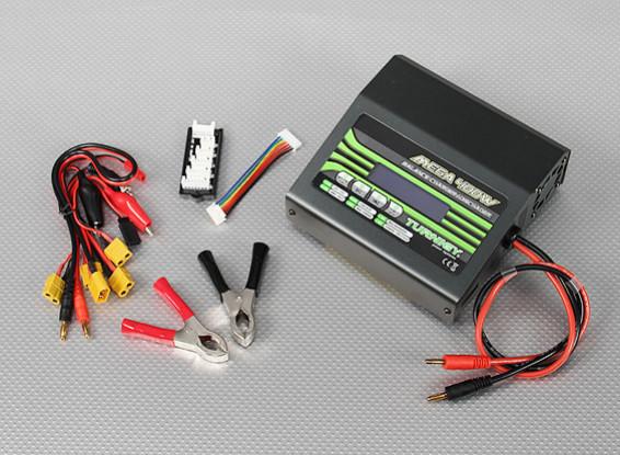 TURNIGYのMEGA 400Wリチウムポリマー・バッテリ・チャージャ