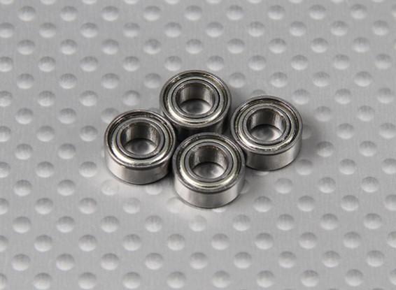 ベアリング(10x5x4mm)1/10 Turnigy 4WDブラシレスショートコーストラック(4個/袋)