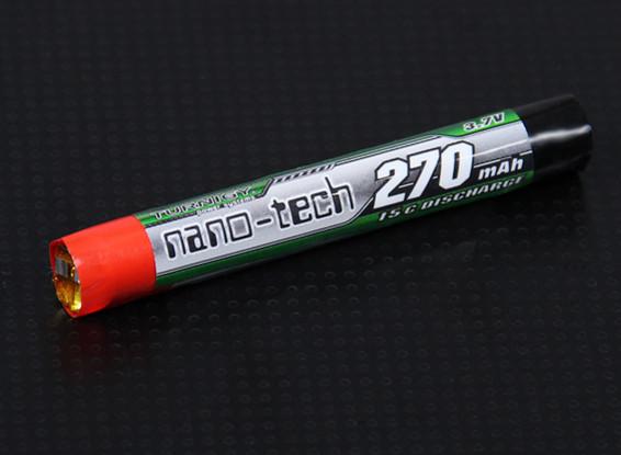 Turnigyナノテクノロジー270mah 1S 15Cラウンドセル