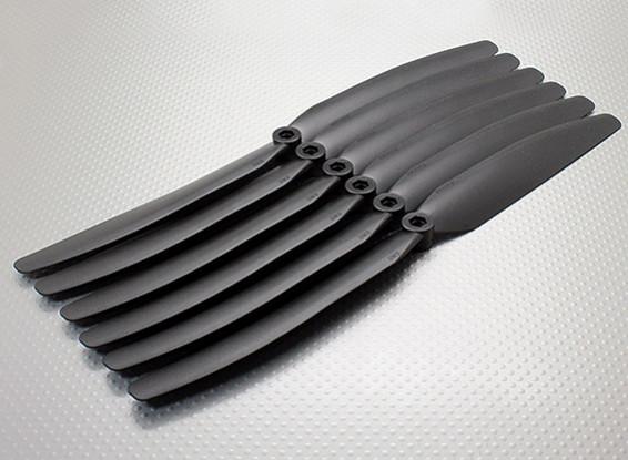 GWS EPプロペラ(DD-1170 279X178mm)ブラック(6PCS /セット)