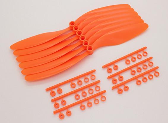 GWS EPプロペラ(RD-8043の203x109mm)オレンジ(6PCS /セット)