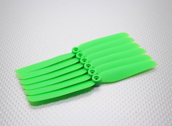 GWS EPプロペラ(DD-6030 152x76mm)緑(6PCS /セット)