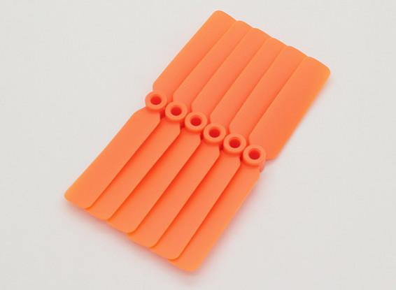 GWS EPプロペラ(DD-4025 102x64mm)オレンジ(6PCS /セット)