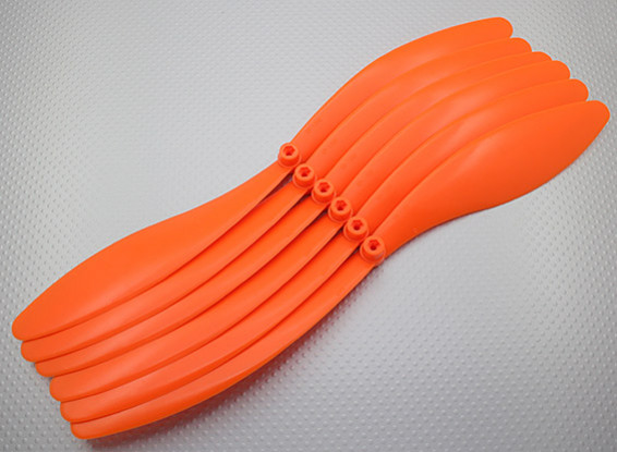 GWS EPプロペラ(RD-1390の330x228mm)オレンジ(6PCS /セット)