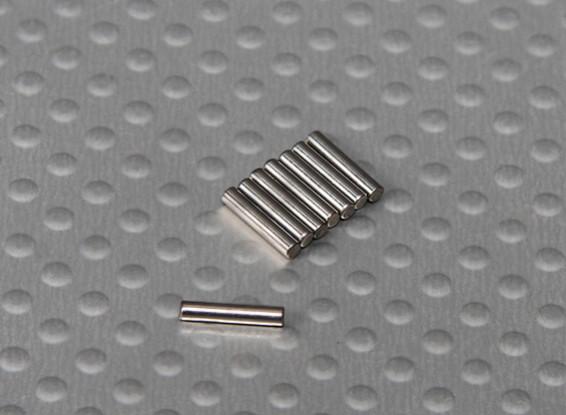 ピン(8x2mm)1/10 Turnigyスタジアムキング2WDトラギー(8本/袋)