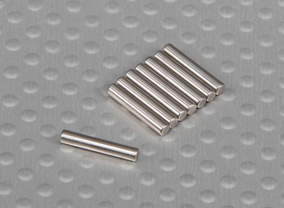 ピン(12x2mm)1/10 Turnigyスタジアムキング2WDトラギー(8本/袋)