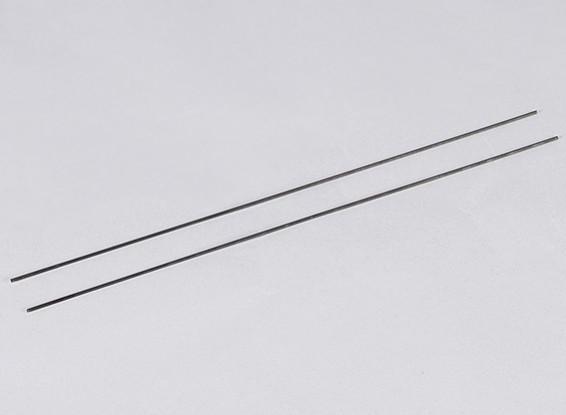 金属プッシュロッドM2xL300(2個/セット)
