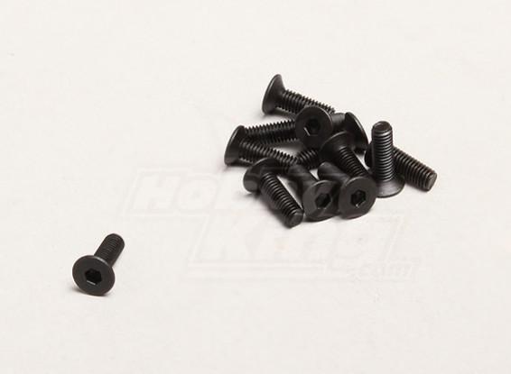 M3x10mm六角ネジ(個入り/袋) -  TurnigyトレイルブレイザーXBとXT
