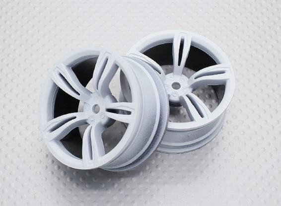 1:10スケール高品質ツーリング/ドリフトホイールRCカー12ミリメートル六角(2PC)CR-M5W