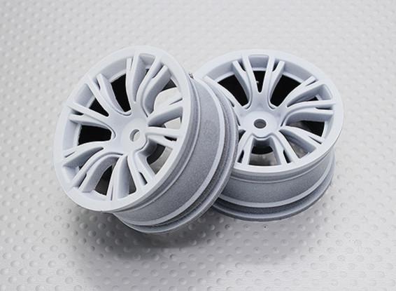 1:10スケール高品質ツーリング/ドリフトホイールRCカー12ミリメートル六角(2PC)CR-BRW