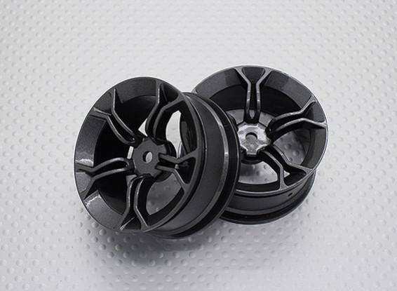 1:10スケール高品質ツーリング/ドリフトホイールRCカー12ミリメートル六角(2PC)CR-MP4M