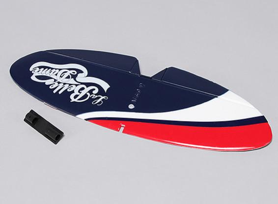 ラ・ベルルダムの1180ミリメートル - 水平尾翼